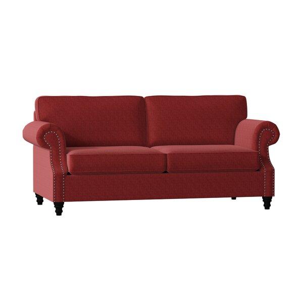 Poshbin Fontana Rolled Arm Sofa Reviews Wayfair