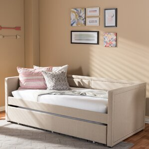 Glennis Daybed with Trundle by Latitude Run Image