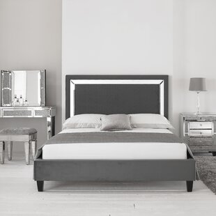 Harmony Upholstered Bed Frame By Willa Arlo Interiors