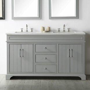 Florencia 60 Double Vanity Set by Gracie Oaks