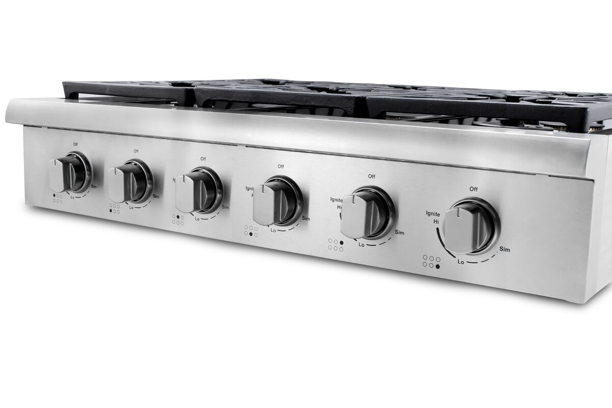 lg 5 burner 36 gas cooktop with superboil in stainless steel ancona induction cooktop reviews