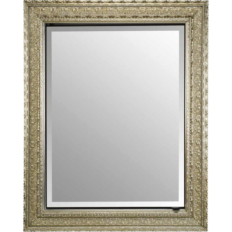 Charlton Home Holdrege Bevel Wall Mirror Wayfair