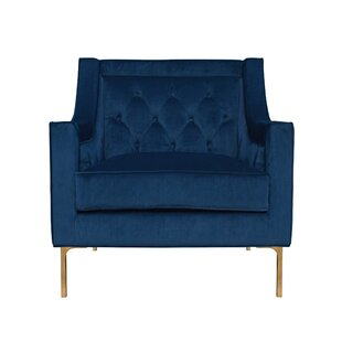 Davonte Wingback Chair by Everly Quinn