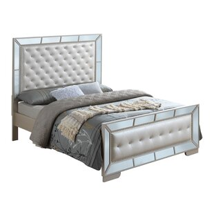 Everly Quinn Jemma Full/Double Upholstered Panel Bed