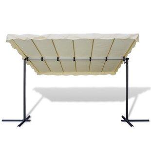 Blanco 3.5m X 2.5m Steel Pop-Up Gazebo By Sol 72 Outdoor