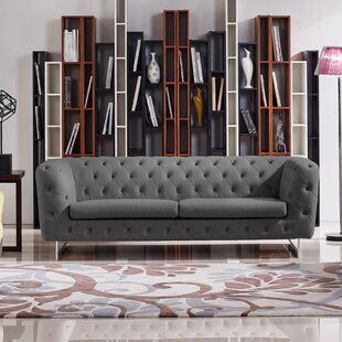 Catalina Tufted Chesterfield Sofa by Diamond Sofa