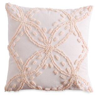 Suffolk Chenille Decorative Cotton Throw Pillow
