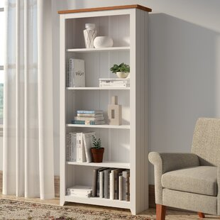 Antonia Tall 176.6cm Bookcase By Three Posts