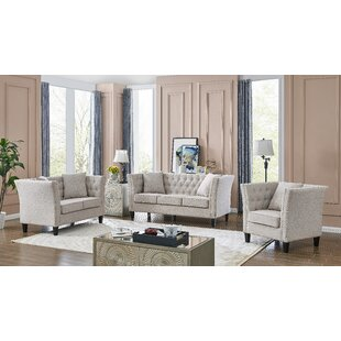 Hedgevale 3 Piece Reclining Living Room Set by Red Barrel Studio