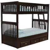 Giulio Twin Bunk Bed with Drawers by Birch Lane™ Heritage