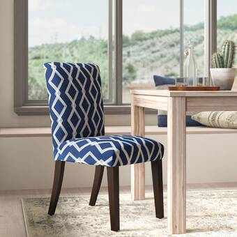 Orren Ellis Verlin Upholstered Dining Chair Wayfair