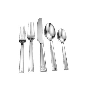 Splendide Wells 20 Piece Flatware Set, Service for 4