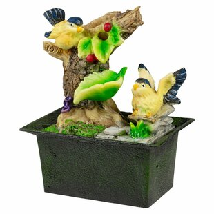 Gaier Battery Bird Ceramic Fountain By Sol 72 Outdoor