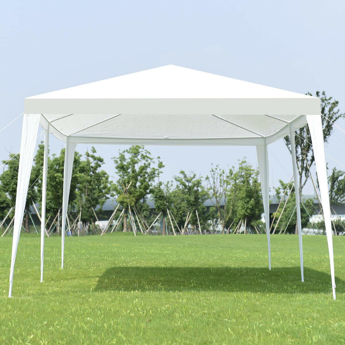 Construction Pergola Bois Plan 20 ft. w x 10 ft. d steel party tent