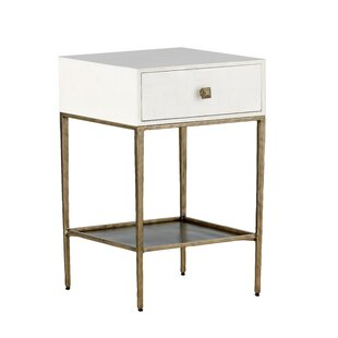 May End Table with Storage by Gabby