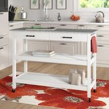 Lombard Kitchen Cart by Alcott Hill®
