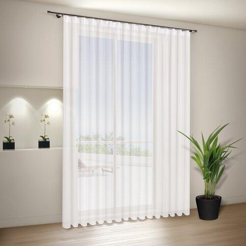 Vorhang Barts mit Gardinenband (1 Stück)  transparent | Heimtextilien > Gardinen und Vorhänge | 17 Stories