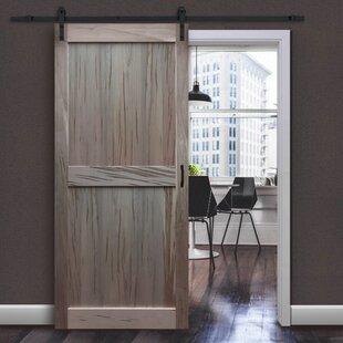 Solid Flush Wood Interior Barn Door