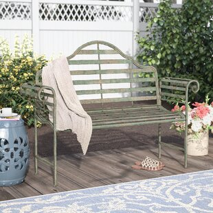 Bescott Chippendale Metal Garden Bench