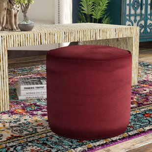 Wessels Plush Pouf by Red Barrel Studio
