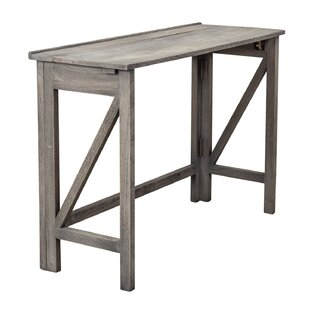 Kathleen Folding Potting Console Table by Millwood Pines