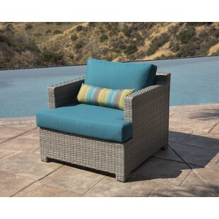 Koerner Patio Chair with Sunbrella Cushions