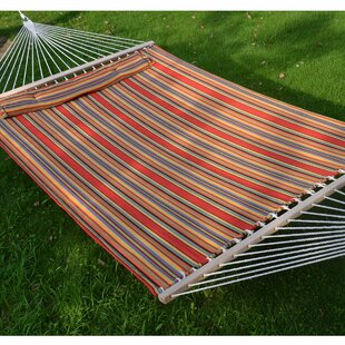 Andover Mills Guerro Fabric Heavy Duty Double Sleep Bed Tree Hammock