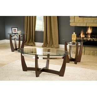 Compare prices Billman 3 Piece Coffee Table Set By Red Barrel Studio