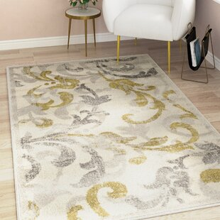 Maritza Light Grey/Ivory Indoor/Outdoor Area Rug by Willa Arlo Interiors