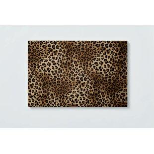 Leopard Motif Magnetic Wall Mounted Cork Board By Ebern Designs