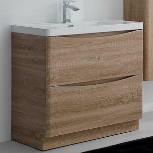 Corey 900mm Free-standing Vanity Unit By Zipcode Design