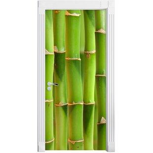 Green Fresh Bamboo Door Sticker  sc 1 st  Wayfair & Bamboo Door Curtain | Wayfair.co.uk