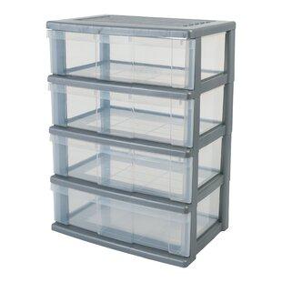 34 L Plastic Storage Box By IRIS