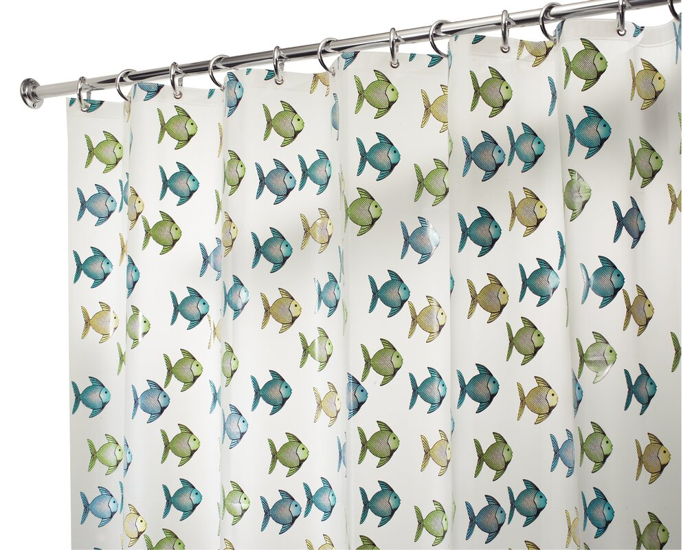 Frost Fishy Shower Curtain from Wayfair!