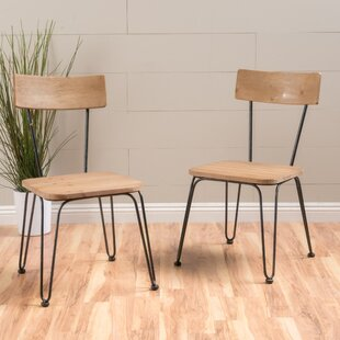 Barton Wood Side Chair (Set of 2) Turn on the Brights