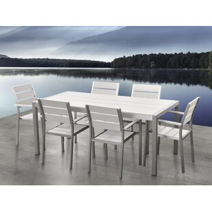 Orren Ellis Gilbrae 7 Piece Dining Set