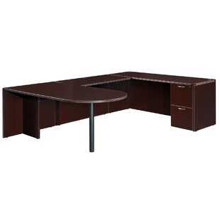 Fairplex Right/Left Bullet U-Shape Executive Desk