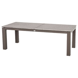 Magni Extendable Aluminium Dining Table By Sol 72 Outdoor