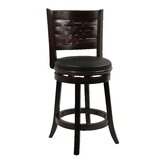 Ansari 24 Swivel Bar Stool by Alcott Hill®