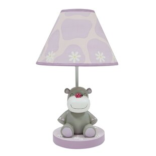 Ladybug lamp wayfair ladybug jungle 15 h table lamp with empire shade mozeypictures Choice Image