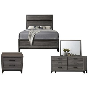 Webster Panel 4 Piece Bedroom Set