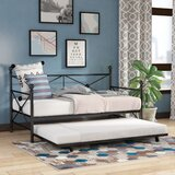 Timberwyck Metal Daybed with Trundle by Zipcode Design™