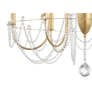 Schonbek Esmery 4-Light Candle Style Chandelier