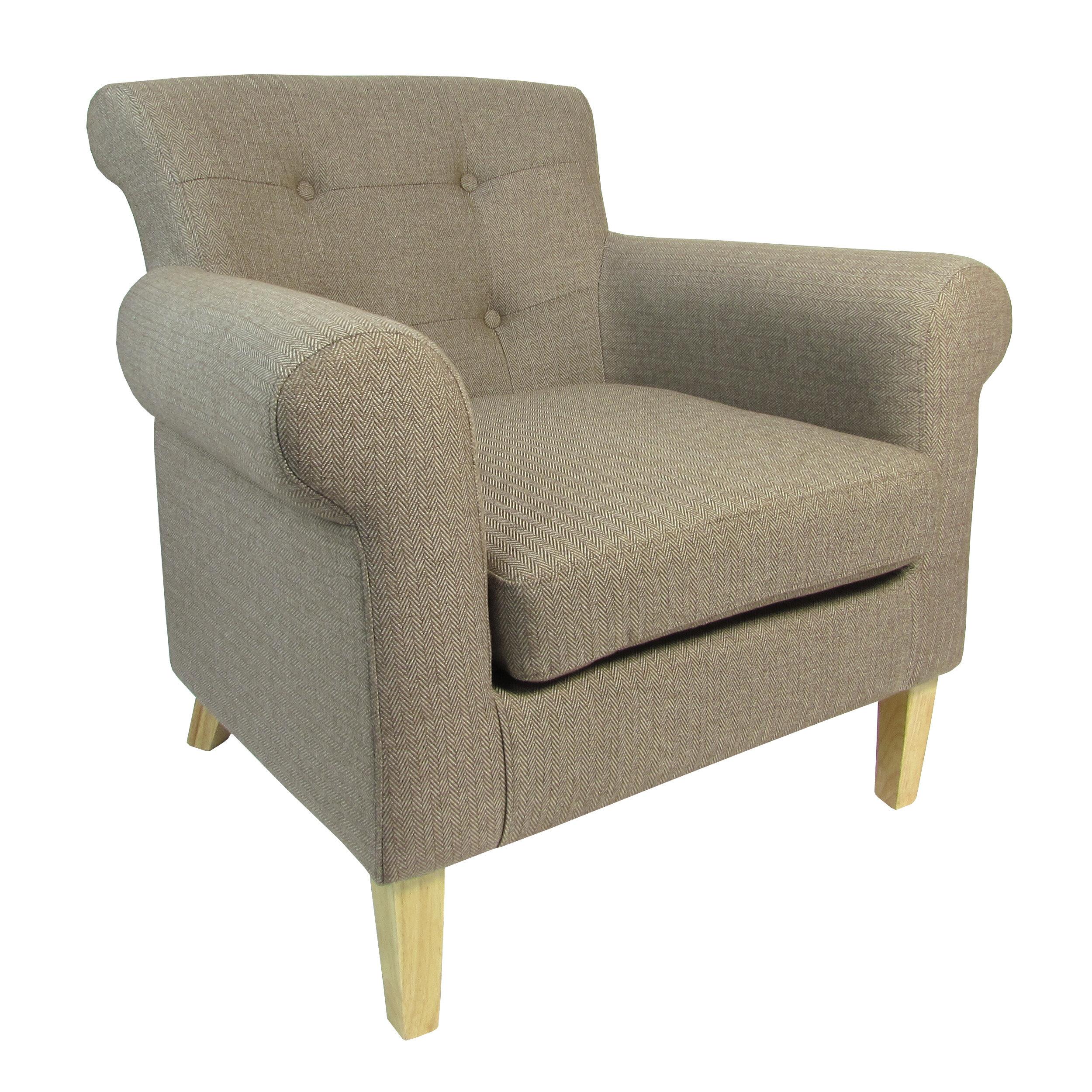 Home Loft Concept Herringbone Armchair U0026 Reviews | Wayfair.co.uk