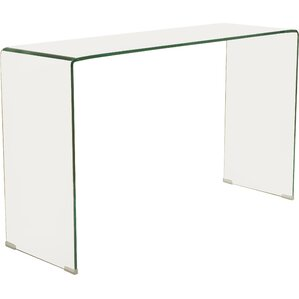 Glass Sofa Table glass console & sofa tables you'll love   wayfair