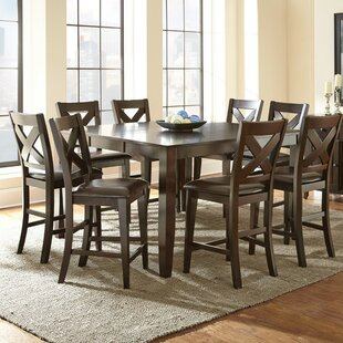 Remarkable York 9 Piece Counter Height Dining Set Camellatalisay Diy Chair Ideas Camellatalisaycom