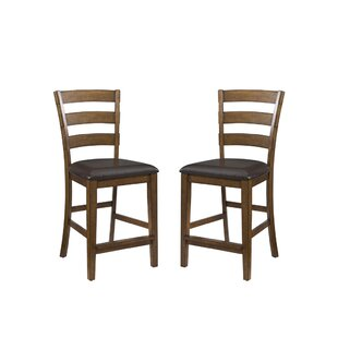 Whitacre 24 Bar Stool (Set Of 2) by Millwood Pines Reviews