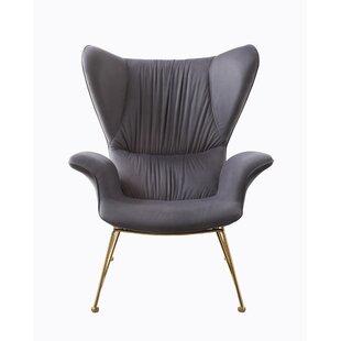 Find Rivoli Wingback Chair by Brayden Studio Reviews (2019) & Buyer's Guide