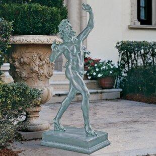 Dancing Faunus Of Pompeii Grande Statue By Design Toscano