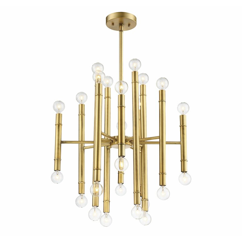 Brindalla 24-Light Sputnik Chandelier